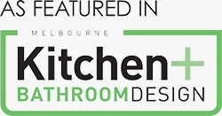 Melbourne Kitchen + Bathroom Design Logo